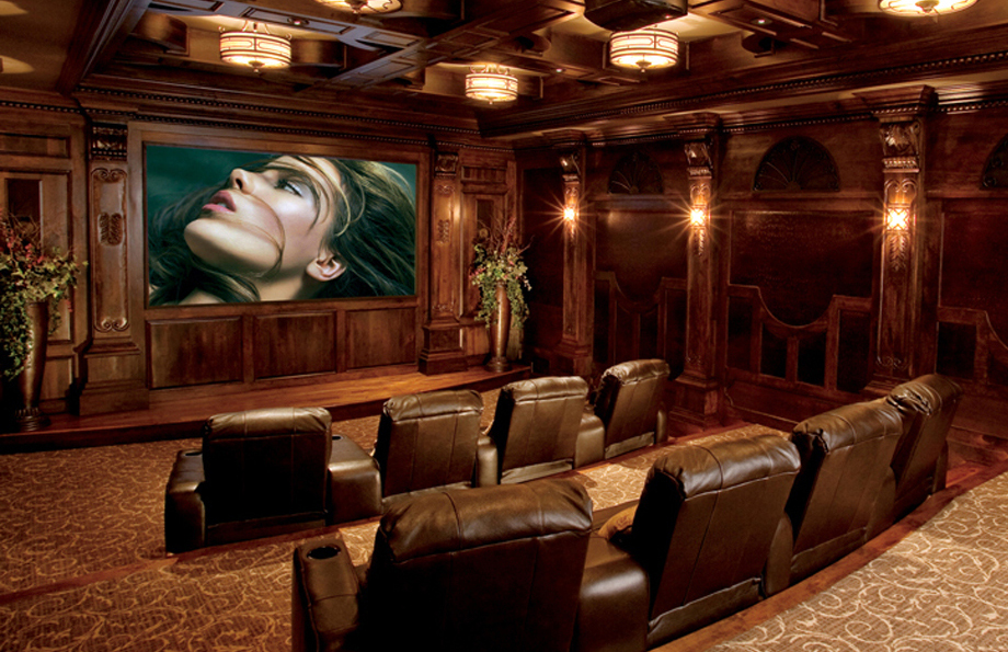 High End Theater Room Intellitech Systems Michigan Smart
